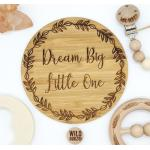 Custom Baby Name | Phrase | Quote |Plaques | Etched / Engraved by WILD BUBZ®