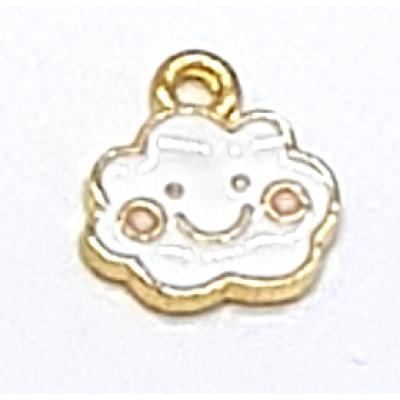 15mm Happy Cloud Charm | as low as $0.99