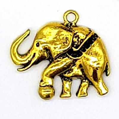 40mm Golden Elephant Charm