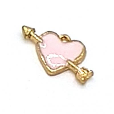 15mm Love Heart Charm | as low as $0.99