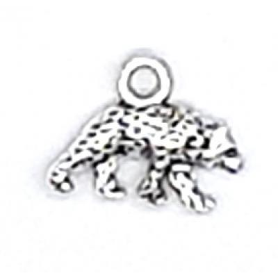 15mm tibetan silver bear Charm | as low as $0.99