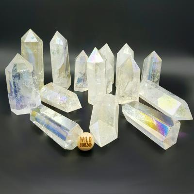 ANGEL AURA | Quartz Crystal Points | WILDBUBZ®
