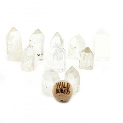 Clear Quartz Crystal Points | WILDBUBZ®