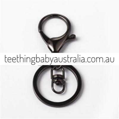 Black Smoke Key Ring / Key Chain / keyring
