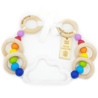 Cloud | Pram Garland Toy | by WILDBUBZ® | Best Rainbow | + MORE OPTIONS +