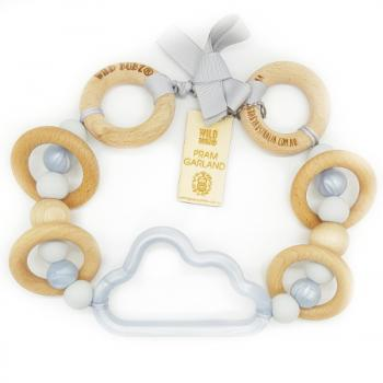 Cloud | Pram Garland Toy | by WILDBUBZ® | Silver Neutral | + MORE OPTIONS +