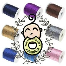 1.5mm Nylon Satin Cord 100y Spools