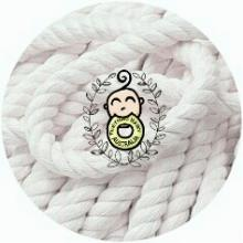 3mm -  white Hemp Cord