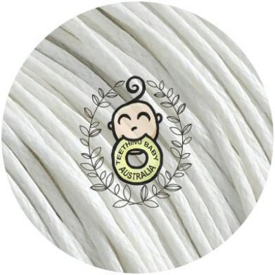 1.5mm hemp cord - waxed - per metre
