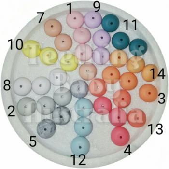 25mm Abacus Silicone Beads   SEAMLESS   Exclusive colours   as low as $0.69