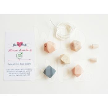 DIY silicone necklace kit