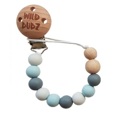 Neutral / Dusty Blues - Dummy Chain | WILD BUBZ® | Optional Custom Name