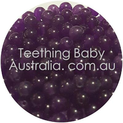 4mm Natural dark amethyst gemstone beads - round