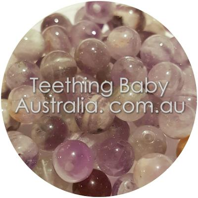 6mm Natural Amethyst gemstone beads - round