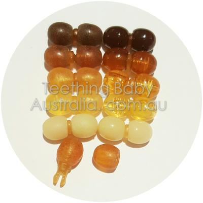 Amber jewellery safety Pop Clasps