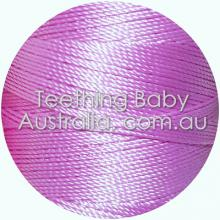 Silk beading thread - Lilac