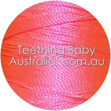 Silk beading thread - Pink