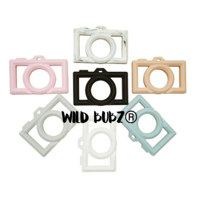 CAMERA Teether | Silicone | WILD BUBZ® | Chill + Chew Safe