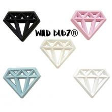 Silicone DIAMOND Teether - WILD BUBZ® Wholesale