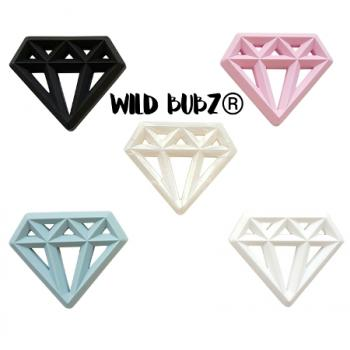Silicone DIAMOND Teether - WILD BUBZ®