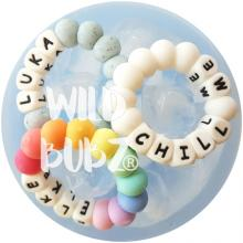 WILDBUBZ® | Personalised CHILL + CHEW | freezer safe Teether toy | Custom Baby Names