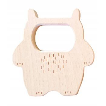 WILD THING - Beech Wood Teether Toy