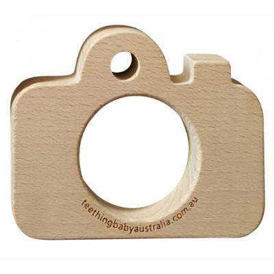 CAMERA - Beech Wood Teether Toy