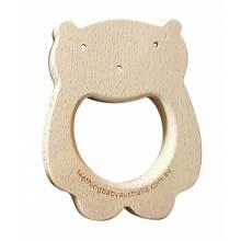 Beech Wood Teether Toys - Woodland Bear WS