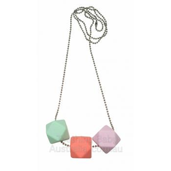 TRI HEX silicone necklace
