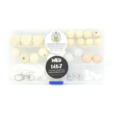 Starter Kit - Silicone / Wood / Chunky - Blush