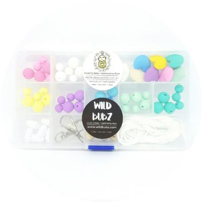 Starter Kit - Silicone / Wood / Pastel Rainbow ❤