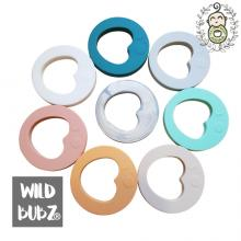 LUNA | Love You To The Moon + Back |  Teether | WILD BUBZ®