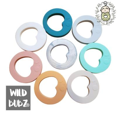 LUNA | Love You To The Moon + Back |  Teether | WILD BUBZ® | Chill + Chew Safe