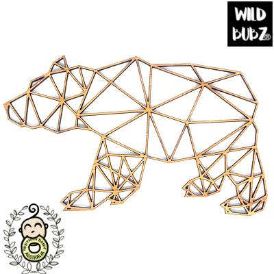 Bear Cub – Bamboo Geo Woodland Animals