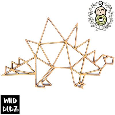 Stegosaurus – Bamboo Geometric Decor