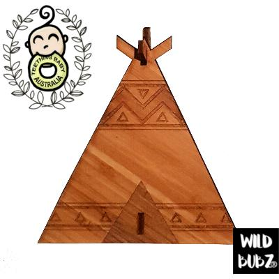 Wild Teepee - 3D Laser Cut Tribal Home / Nursery Decor