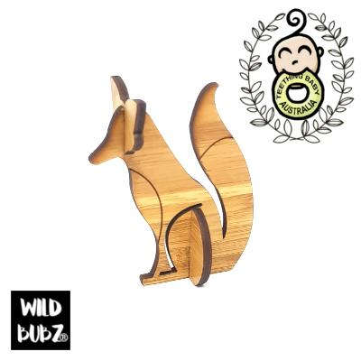 Woodland Fox - 3D Laser Cut Scandi Home / Nursery Decor