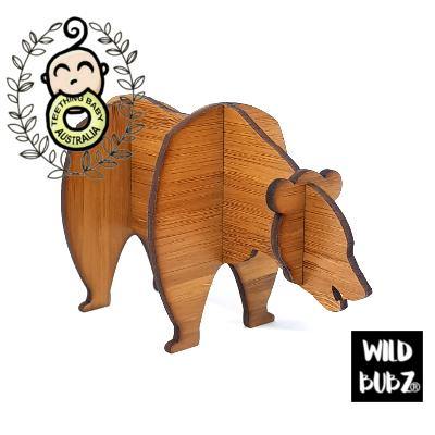 Woodland Bear - 3D Laser Cut Scandi Home / Nursery Decor
