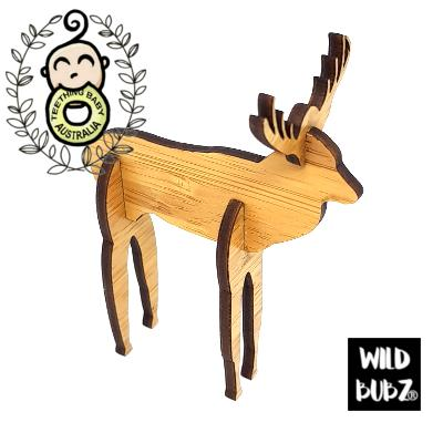 Woodland Deer - 3D Laser Cut Scandi Home / Nursery Decor