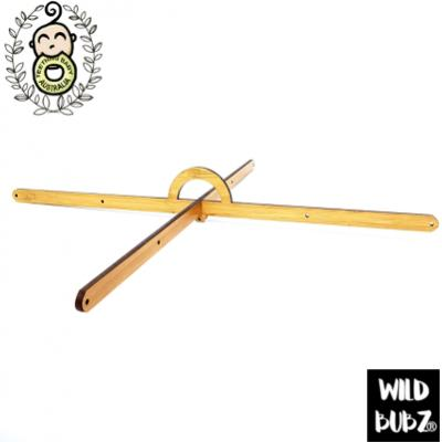 Baby Mobile Wooden Hanger – 9 Hole – Straight Style