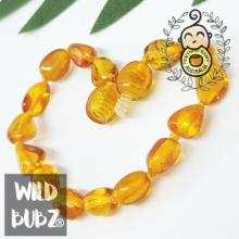 Golden Honey | Premium Bean | Baltic Amber | Bracelet | Polished | Adult