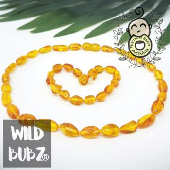 Golden Honey | Premium Bean | Baltic Amber | Set | Polished