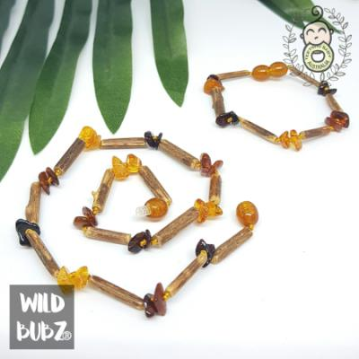 Hazlewood Raw Ombre Honey Necklaces x 10 Pack