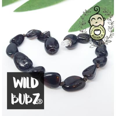 Cherry | Premium Bean | Baltic Amber | Bracelet / Anklet | Polished