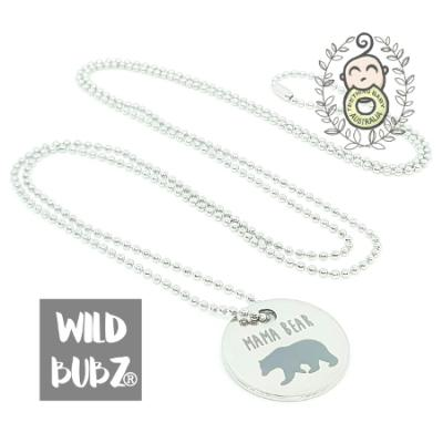 MAMA BEAR | Stainless Steel | Necklace