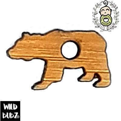 20mm Bamboo Bear Charm