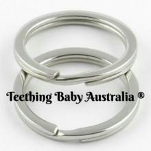30mm Stainless Steel split Ring Round | Wholesale KeyRings | as low as $0.99