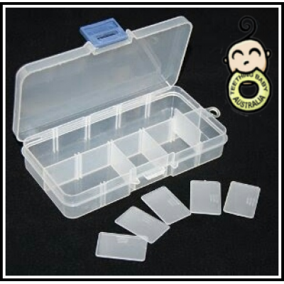10 compartment Storage Case SMALL