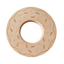 Beech Wood Teether Toys - Donut