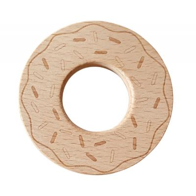 Beech Wood Teether Toys - Donut WS